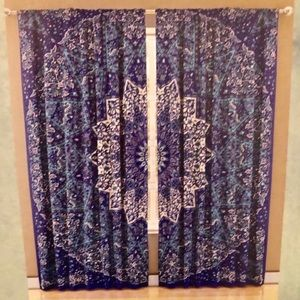 Set of Medallion curtains